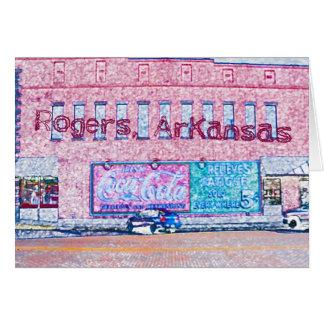 Cartão Rogers do centro histórico, AR