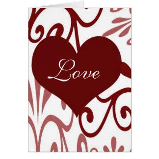 Cartão Rolo Namorados-Inglês