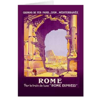 Cartão Roma expressa