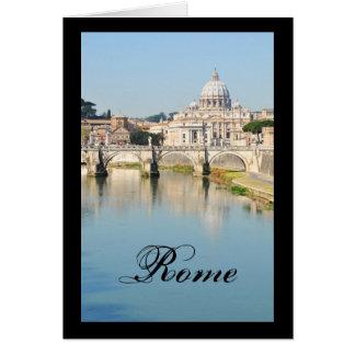 Cartão Roma, Italia
