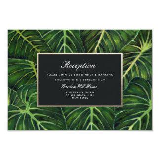 Cartão Romance/recepção tropicais