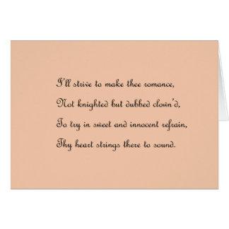 Cartão romântico