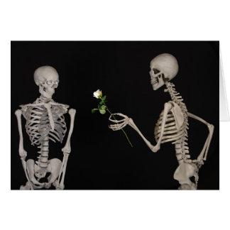 cartão romântico dos namorados do amor profundo do