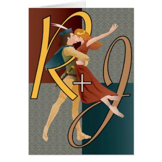 Cartão Romeo e Juliet, balé