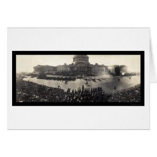 Cartão Roosevelt Innauguration