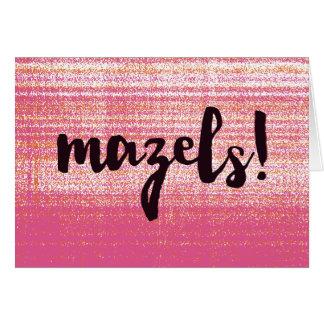 Cartão Rosa de Mazels