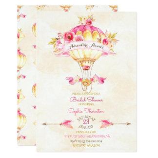 Cartão Rosas das setas do amarelo do ouro do rosa do