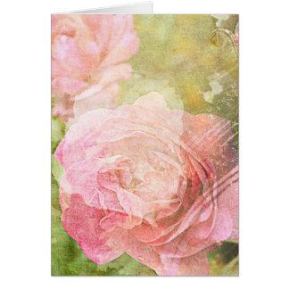 Cartão Rosas doces