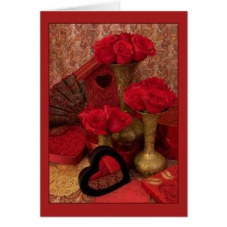 Cartão Rosas limitados mim