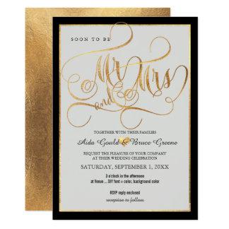 Cartão Roteiro do Sr. Sra. Falso Ouro Imaginação de