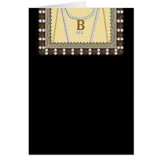 Cartão Roupa histórica - Anne Boleyn