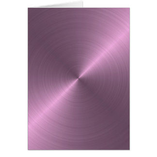 Cartão Roxo metálico