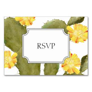 Cartão Rsvp de florescência do convite do casamento do