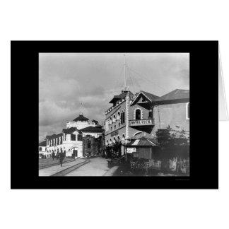 Cartão Rua 1912 de Mombasa, Kenya
