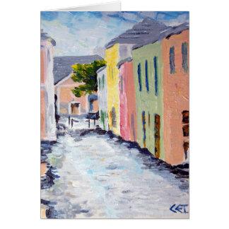 Cartão Rua da água, Bermuda