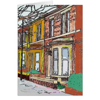 Cartão Rua de Philadelphfia