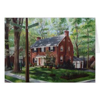 Cartão Rua de Woodberry (cartão)
