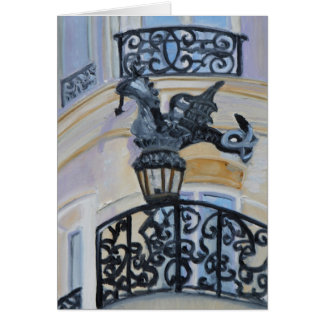 Cartão Rua du Dragão PARIS