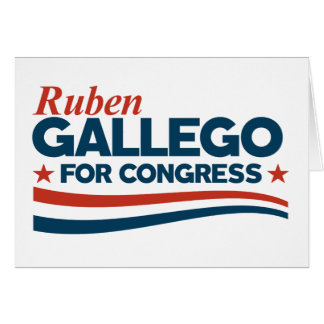 Cartão Ruben Gallego