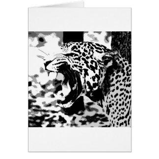 Cartão Rujir Jaguar