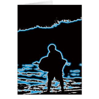 Cartão Ruptura da costa de BodyBoard