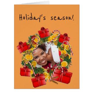 Cartão Sabors de Natal