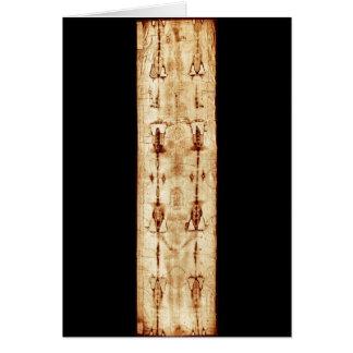 Cartão Saia AUMENTADA do Jesus Cristo completo da imagem