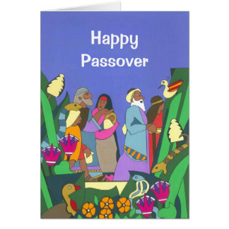 Cartão Saindo de Egipto