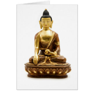 Cartão Sakyamuni Buddha