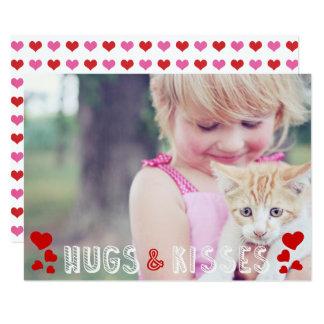 Cartão Sala de aula bonito dos corações da foto XO do dia