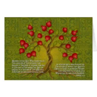 Cartão Salmo 1