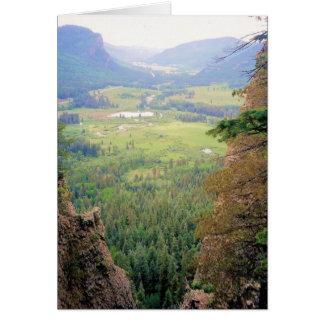 Cartão Salmo 23 - O vale verde - Colorado