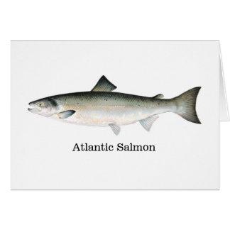 Cartão Salmões atlânticos