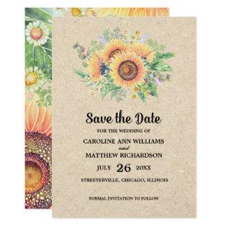 Cartão Salvar a data. Anúncios rústicos do casamento