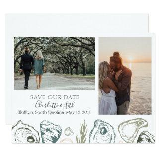 Cartão Salvar a data para Charlotte