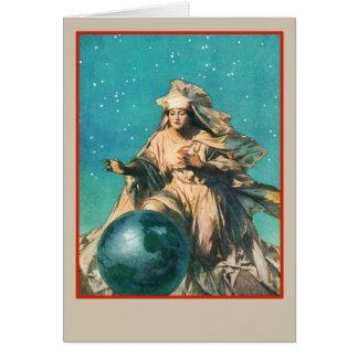Cartão Salvar o planeta