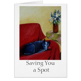 Cartão Salvar o um ponto