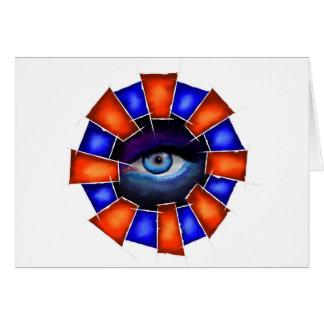 Cartão Salvenitus - olho de observação