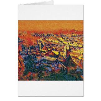 Cartão Salzburg na arte
