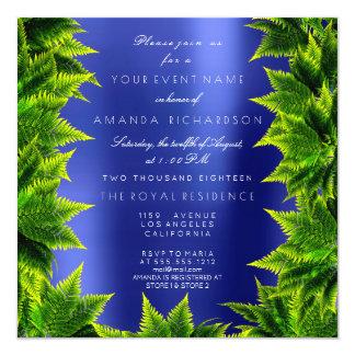 Cartão Samambaia da folha da planta da floresta de Cali