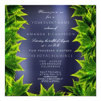 Cartão Samambaia verde da folha da planta da floresta de