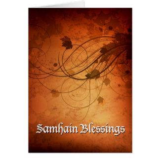 Cartão 'Samhain