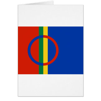 Cartão Sami, Noruega