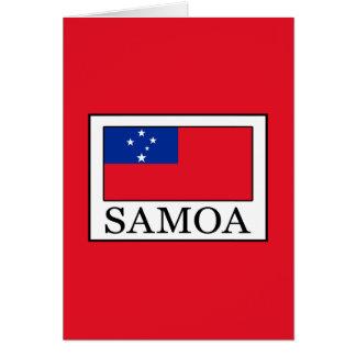 Cartão Samoa