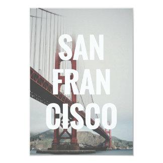 Cartão San Francisco convida