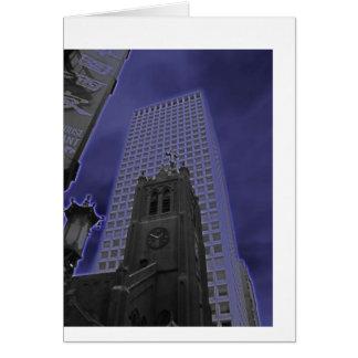 Cartão San Francisco roxo