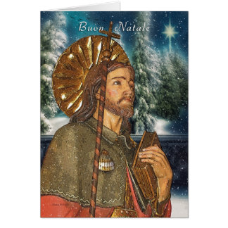 Cartão San Rocco - Buon Natale - italiano - Natal
