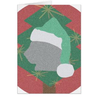 Cartão Santa Cat Postcard