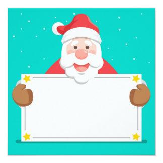 Cartão Santa Claus