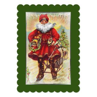 Cartão Santo do século XIX Nicholas
